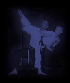 Sensei Anthony Arango teaching a student
