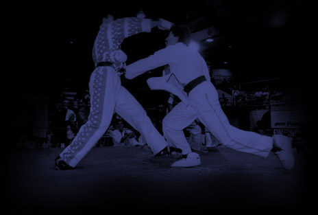 Sensei Anthony Arango Sparring in Tournament